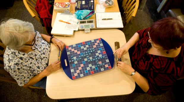 Scrabble Club for Healthier