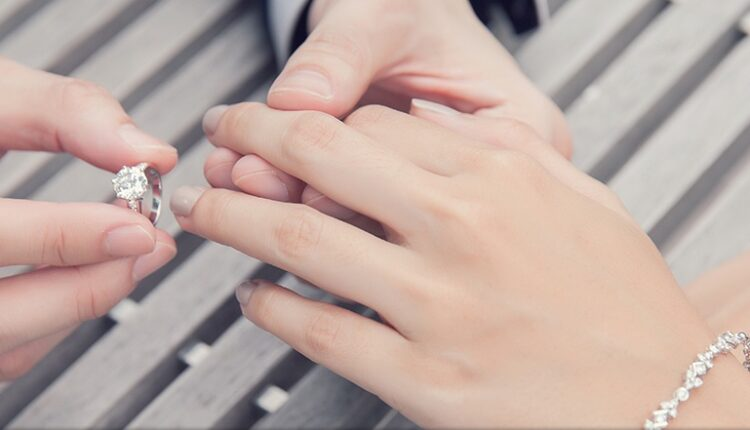 Rings Are Worn On the Left Hand